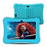 Dragon Touch Y88X Plus Kids Tablet 16 GB 2019 Edition, 7' HD IPS Display Touchscreen Kidoz Pre-Installed with All-New Disney Content (More Than $80 Value) - Blue