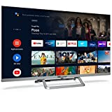 TD Systems K32DLX14GLE Hey Google Model 2021 - Televisores Smart TV 32 Pulgadas HD con Google Chromecast Built-in, Control por Voz y HBBTV, 800 PCI Hz, 3X HDMI, 2X USB. DVB-T2/C/S2. Televisiones