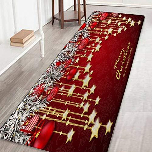 Weihnachten Badematten und Teppiche, Weihnachten Egg 3D Printed Griffige Badteppiche Home Decor