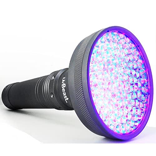 uvBeast V2 - Black Light UV Flashlight with HIGH...
