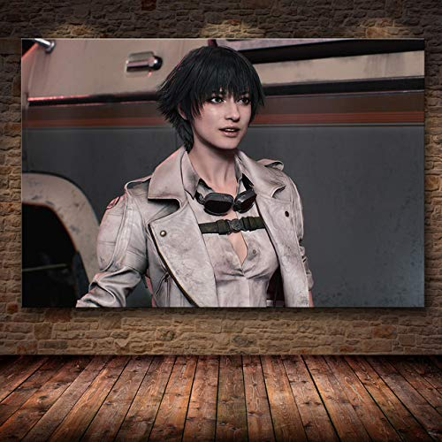 mmzki 3D Online-Spiel Poster Dekoration Malerei auf HD Leinwand Leinwand Malerei Kunst Poster Spiel Bild