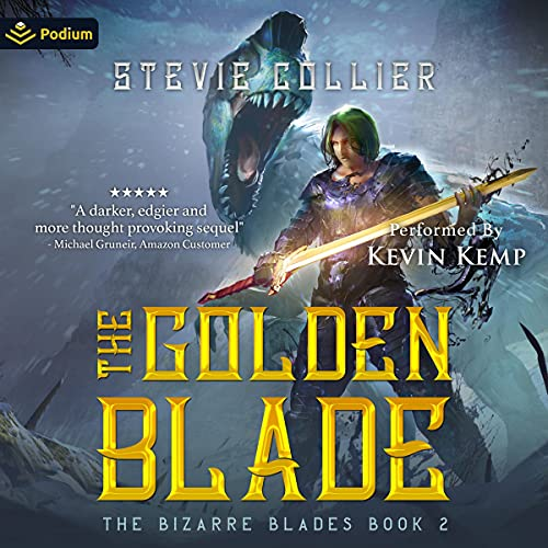 The Golden Blade Audiobook By Stevie Collier cover art