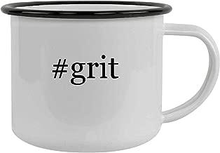 #grit - 12oz Hashtag Stainless Steel Camping Mug, Black
