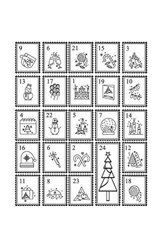 Diabetes Tagebuch: Adventskalender Weihnachten Santa Süßes Geschenk Typ 1 & Typ 2, 120 Seiten, 59 Wochen, 6X9 (Ca. A5), Blutzuckertagebuch, Hypertonietagebuch