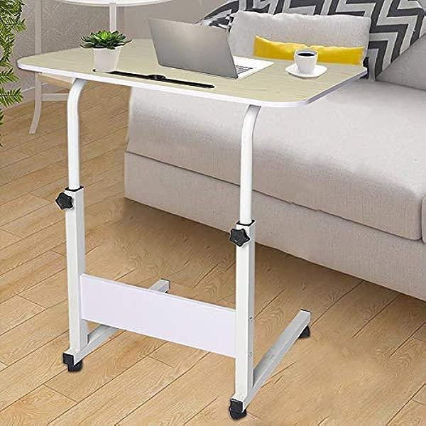 Fiudx Simple Laptop Desk Bed With Desktop Home Removable Lazy Lift Bedside Table Desk