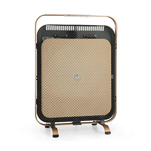 Klarstein HeatPal Marble - Radiatore ad Infrarossi, Stufa Elettrica, 1300 W, Accumulatore...
