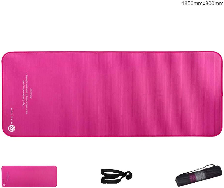 Yoga - Matte Für Anfnger Damen - Anti - Rutsch - übung, 10Mm