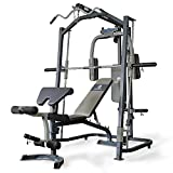 Marcy Smith machine MP3100, Rack de musculación multifunción, Sentadillas con...