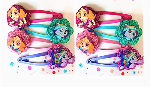 Girls Dog Paw Hair Accessories Hair Clips Party Supplies Party Favors Puppy Patrol Birthday Gift