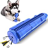 HETOO Dog Toothbrush Stick Squeaky Toy Effective Doggy Teeth Cleaning Puppy Brushing Stick Dental Oral Care for Small Medium Dogs (Fit 15 lbs-50 lbs)