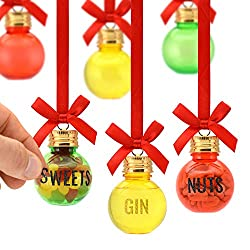 Bar Amigos Personalised Christmas Baubles