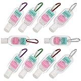 Beaupretty 10 Stück Reisegröße Flasche mit Schlüsselbundhalter 30Ml Tragbare Seifenflaschen mit...