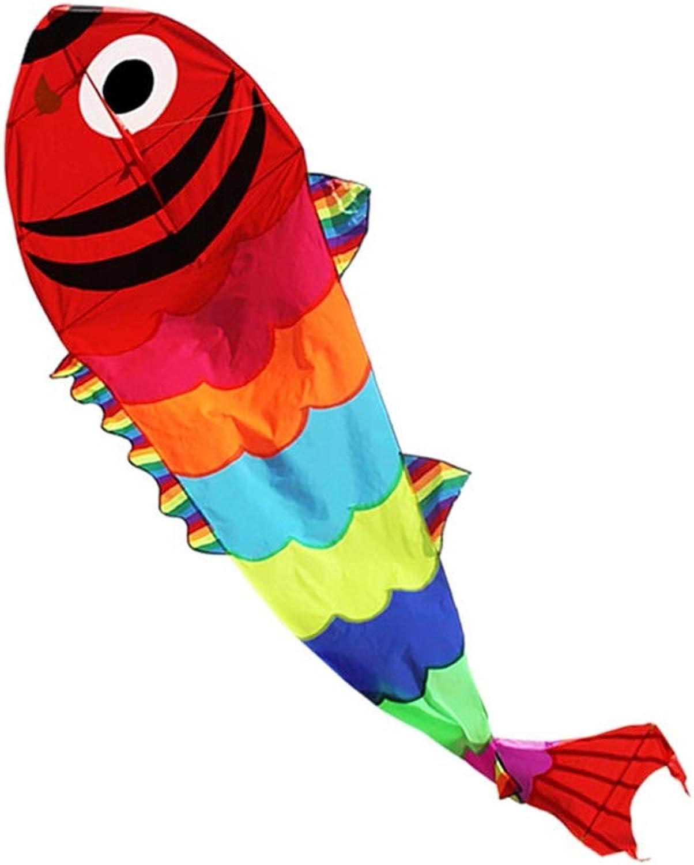ventas en linea Zhao Cometas al Aire Libre, Libre, Libre, Brisa Colorida en Forma de pez Dorado Fácil de Volar Cometas de Juguete para Niños Grandes de Kite Park para Adultos, 1.15  4M (Tamaño   1.15  4M)  barato