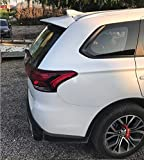 SXRKRZLB AleróN Trasero De ala Abs para Maletero, Estilo De Coche Apto para Mitsubishi Outlander 2013-2018