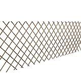 <span class='highlight'><span class='highlight'>Festnight</span></span> 5 Pcs Expanding Willow Trellis Fence Wood Garden Screen Panels for Outdoors Patio 90 x 180 Centermeters (H x L)