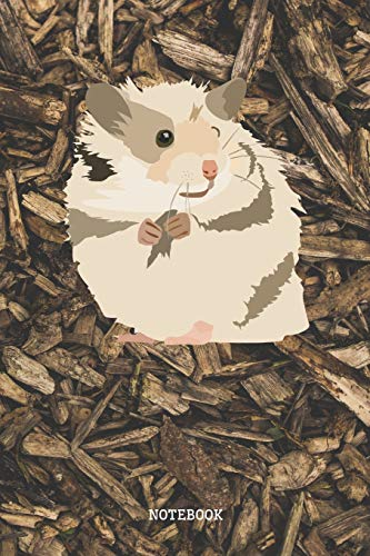 Notebook: Funny and Cute Baby Hamster Planner / Organizer / Lined Notebook (6' x 9')