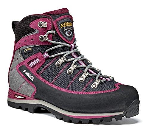 Asolo A12517, Damen Trekking- & Wanderschuhe, Damen, A25040A798_42-43, Multicolore - Rose/Noir/Rouge (rosa (Back/red Bud)), 7UK