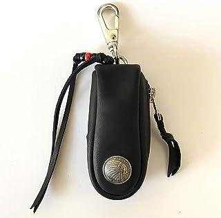 【レッドムーン/REDMOON】 レザー キーケース S-RM-KB1 キーバッグ ハンドメイド 国産 本革 経年変化 バイカー
