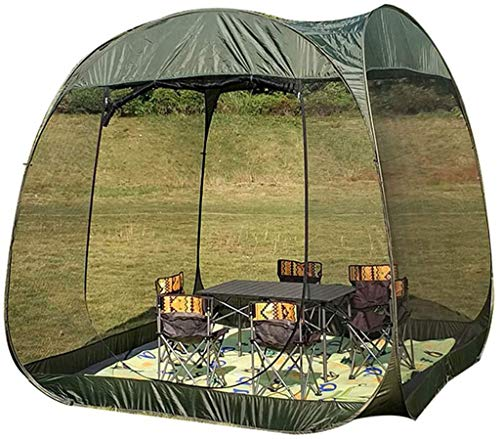 Outdoor Instant Pop Up Tent, Event Shelter Portable Camping Tent Sturdy Sun Shade, Anopy Gazebos 5-10 Person for Festivals, Camping, Hiking, Garden Outdoors