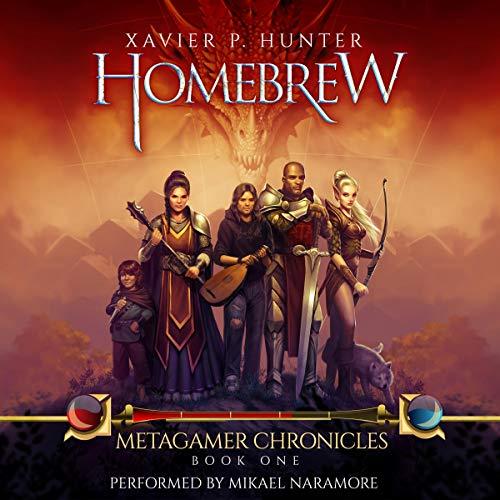 Homebrew audiobook cover art