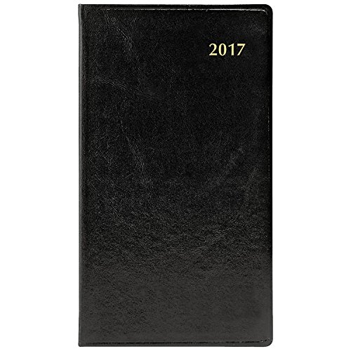 Day-Timer Weekly Planner / Appointment Book 2017, Two Page Per Week, 3-3/8 x 6-1/4, Pocket Size, Black (13551) Photo #5