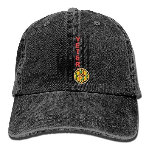 Preisvergleich Produktbild Voxpkrs US Flag Army Veteran 1st Cavalry Division Unisex Baseball Cap Cowboy Hat Dad Hats Trucker Hat ABCDE09444