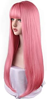 Best silver pink wig Reviews