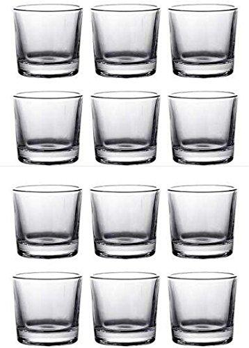 chiner - Vaso Chupito de Cristal 5 cl. - Caja 12 Unidades