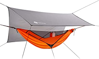 Easthills Outdoors Skyloft 118インチ x 55インチ 超軽量 シングル キャンピング ハンモック オールインワン キャンプ アクセサリー ギア
