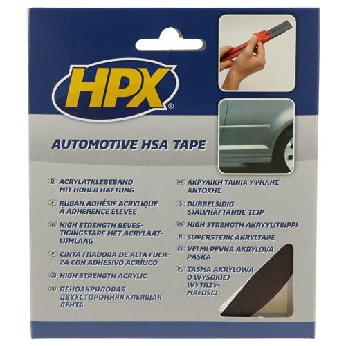HPX HSA004 Rubans de Fixation, Anthracite