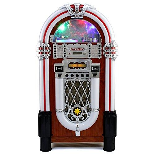 Reproductor de música MonsterShop retro, independiente MP3, Bluetooth, CD,...