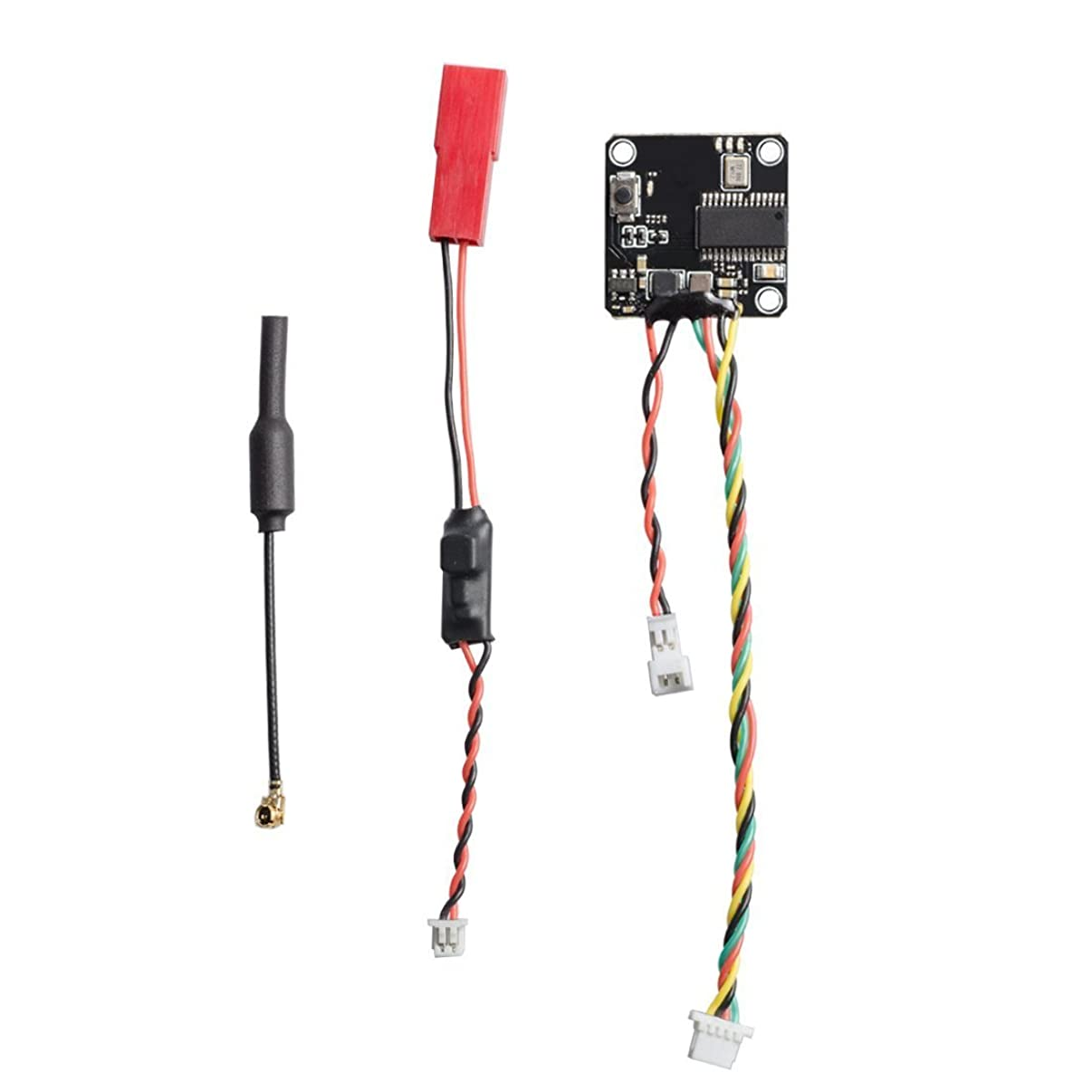 Wolfwhoop Q8 Nano VTX Integrated OSD 5.8GHz 25/100/200mW Switchable FPV Transmitter with IPEX Antenna for Mini Multicopter