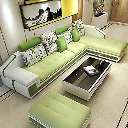Amazon.in: Green - Sofa Sets / Living Room Furniture: Furniture