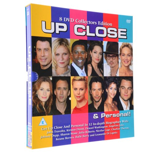 Up, Close & Personal; 8 DVD-Sammlung von 12 eingehenden Prominenten Biographien