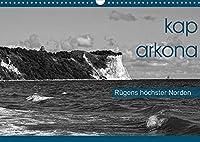 Kap Arkona - Ruegens hoechster Norden (Wandkalender 2022 DIN A3 quer): Flaechendenkmal Kap Arkona, beliebtes Ausflugsziel im Norden der Insel Ruegen (Monatskalender, 14 Seiten )