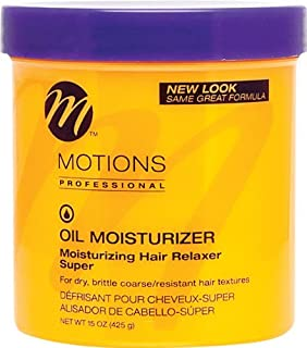 Motions Oil Moisturizer Relaxer - Super 15 oz. by Motions