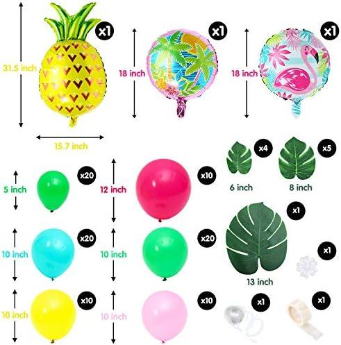 Palm tree leaf balloons _image4