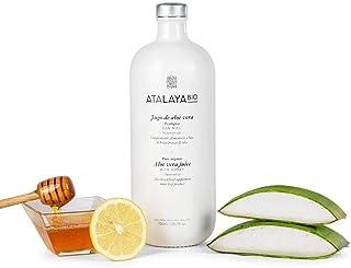 Atalaya Bio - Jugo de Aloe Vera Ecológico certificado IASC con miel y limón (700 ml)