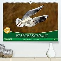 Fluegelschlag - Voegel in ihrem natuerlichen Lebensraum (Premium, hochwertiger DIN A2 Wandkalender 2022, Kunstdruck in Hochglanz): Herausragende Flugaufnahmen aus der Vogelwelt (Monatskalender, 14 Seiten )