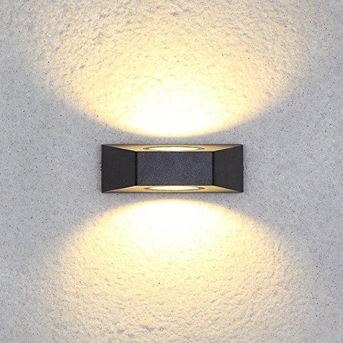 YU-K Moderne huis decoratieve indoor muur muur buiten waterdicht anti-roest-binnenplaats met tuindecoratie voor buiten terras tuin licht outdoor terras waterdicht licht