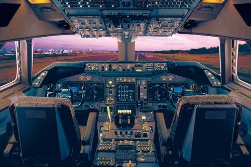 empireposter - educatief - onderwijs - airplane-boeing 747-400 vliegtuig - afmetingen (cm), ca. 91,5 x 61 - poster, NIEUW - versie in het Engels