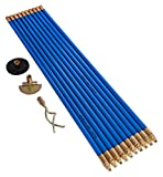 Bailey 5503 3/4-Inch - Juego de vara de drenaje Lockfast con 10 varillas y bolsa para llevar herramientas - Azul