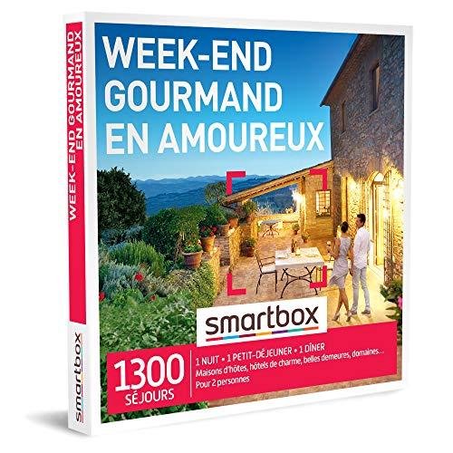 SMARTBOX - Coffret Cadeau couple - Week-end gourmand en amoureux