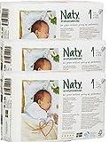 Naty by Nature Babycare - Couches Taille 1 Nouveau-Né - Lot de 3 paquets (78 couches)