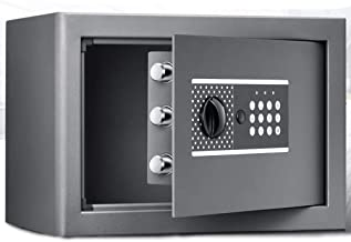 Steel Safe Home Office Hotel Jewelry Cash Storage Includes Emergency Keys Electronic Digital Solid Steel Safe Box with Dig...