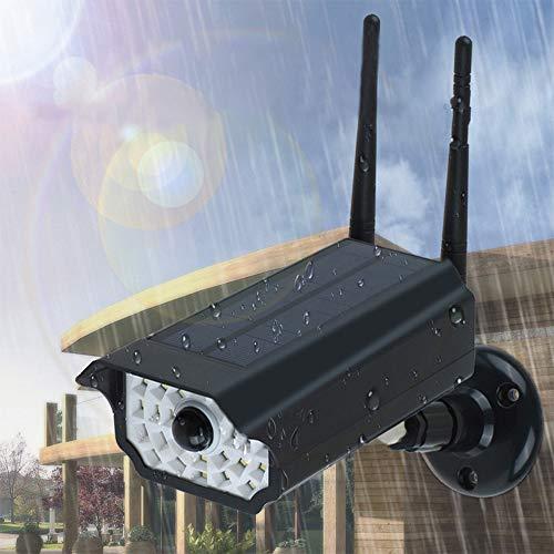 Security Light Outdoor Bright Wireless Dummy Camera Motion Sensor LED, Lumens Wireless LED Security Wall Spotlight