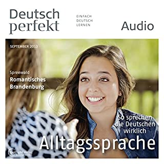 Deutsch perfekt Audio. 9/2013 Titelbild