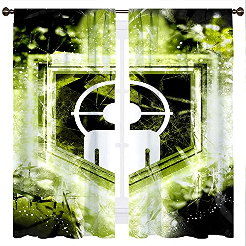SSKJTC C All of D Uty World At War Zombies Deadshot Daiquiri - Cortinas opacas para niñas o niños, 106 x 115 cm