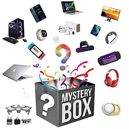 Lievevt Caja misteriosa Mysters Boxs Electronic, Luckys Boxses Mysterys Clicks, súper costefectiva, estilo aleatorio, latidos del corazón, excelente relación calidad-precio, primero llega a la primera