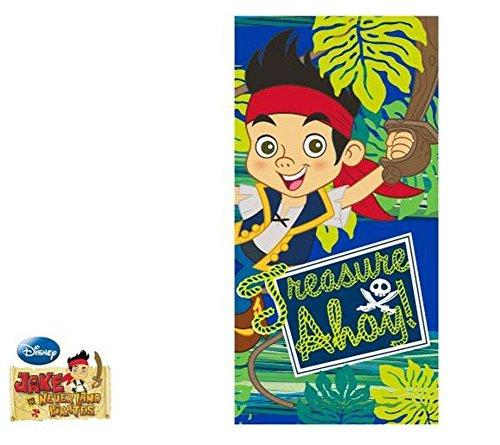 Jake and the Neverland Pirates Bath / Beach Towel EP4387 by Jake and the Neverland Pirates